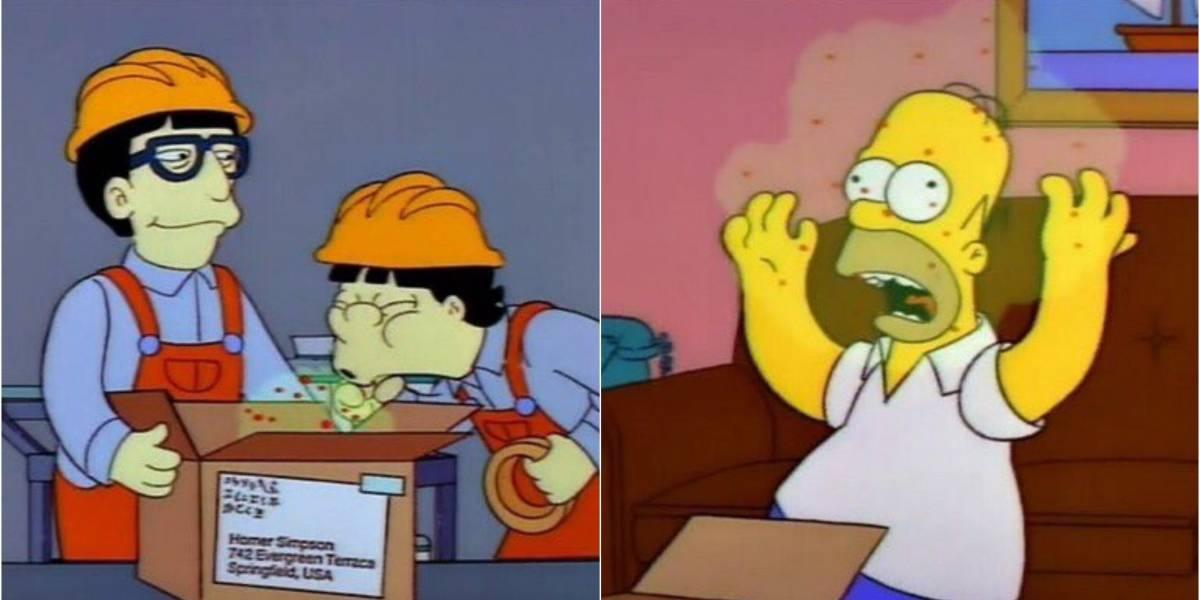 'Os Simpsons' previram emergência global causada pelo coronavírus, afirmam fãs