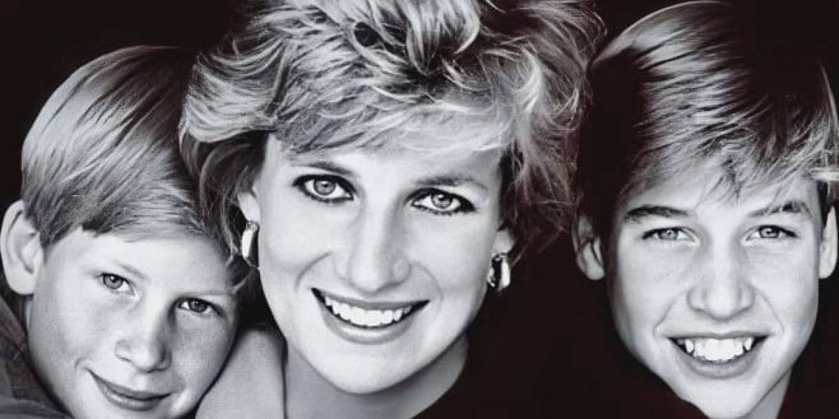 La carta secreta de la princesa Diana sobre Harry y William sale a luz después de 24 años