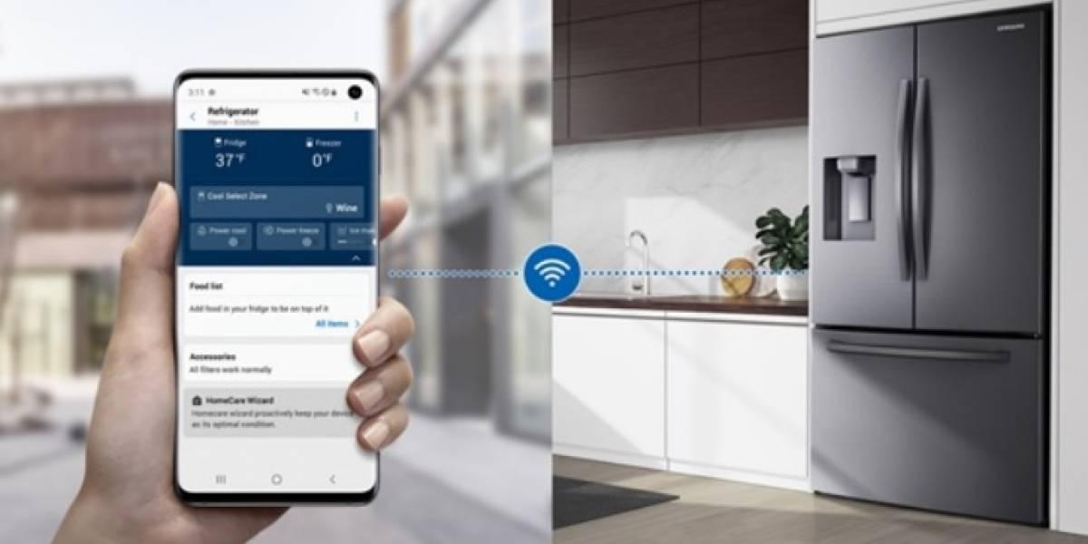 Samsung apresenta novos refrigeradores com Wi-Fi embutido