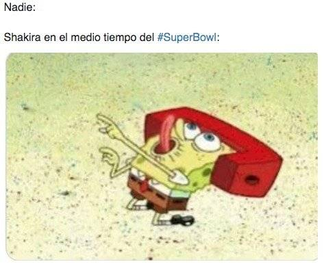Bob Esponja meme sobre Shak