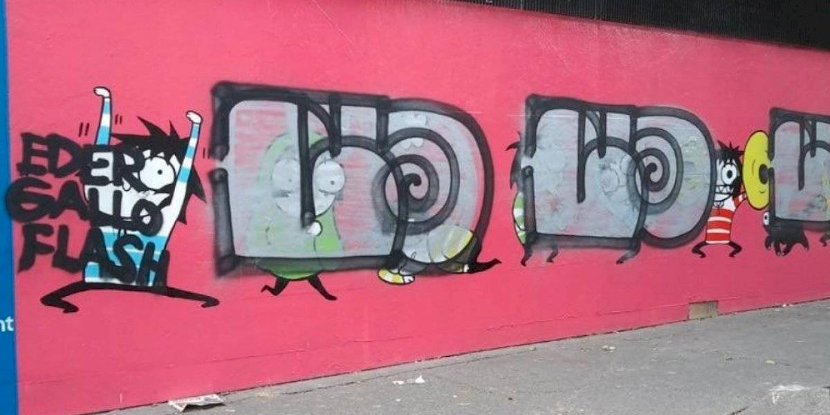 ¿Quién es el grafitero que vandalizó el mural de Sarah Andersen?