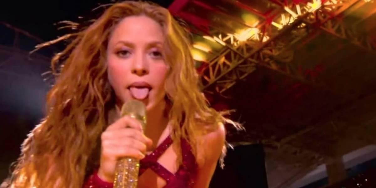 ¿Qué significa el gesto que Shakira hizo en el Super Bowl?