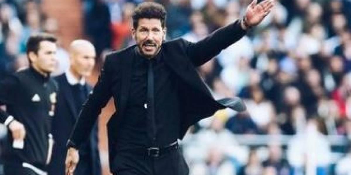 Real Madrid vs Atlético: Las risas de Militao y Marcelo con los gestos de Diego Simeone