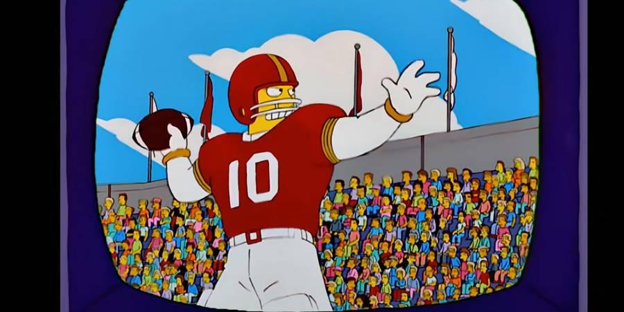 Los Simpson se equivocan: predijeron que los 49ers ganarían el Super Bowl