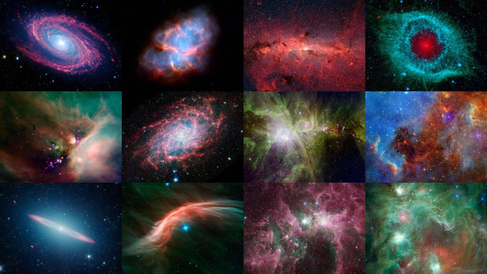 fotos del telescopio Spitzer