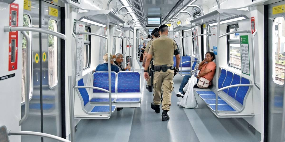 Pouco usada, linha 13-Jade ganha trem com bagageiro até Cumbica