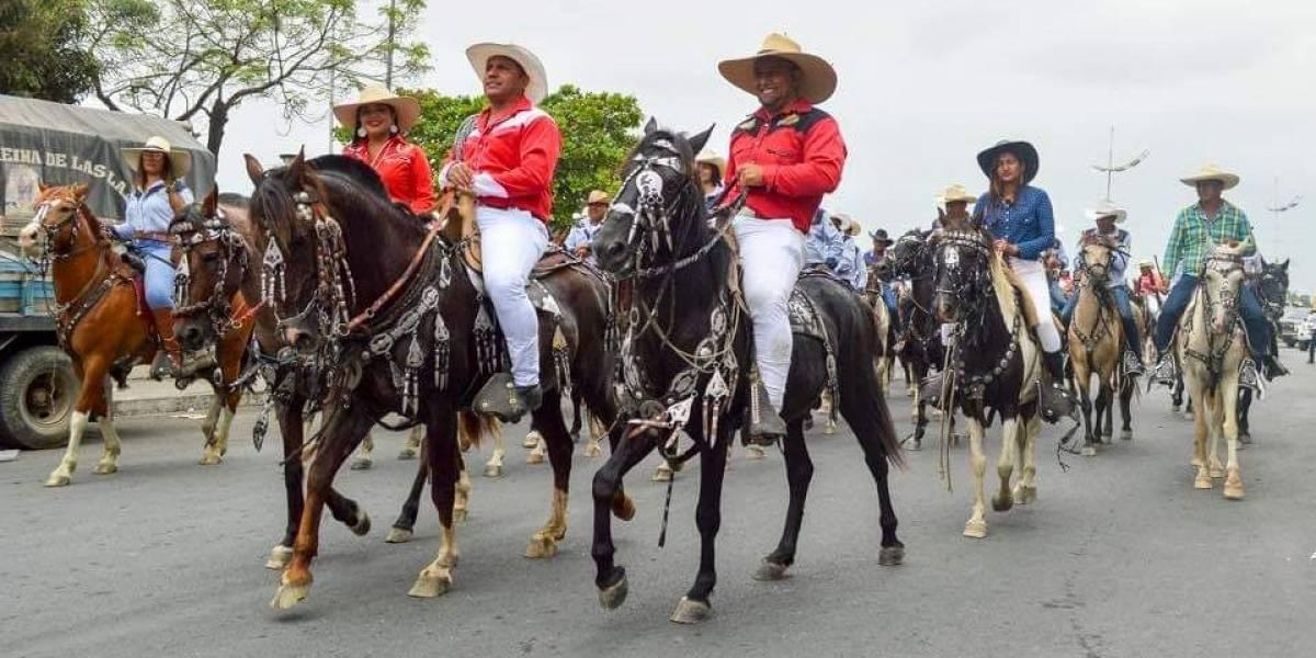 Samborondeños mantienen su tradición ecuestre