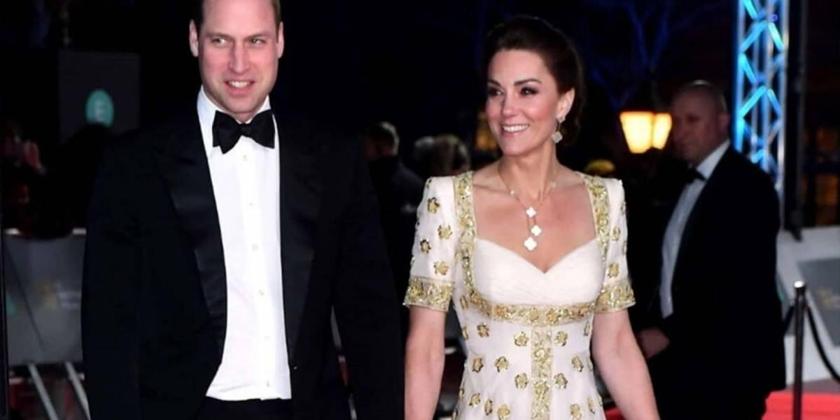 Kate Middleton repete vestido de Alexander McQueen em premiação britânica