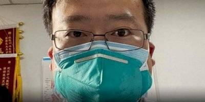 Li Wenliang advirtió del coronavirus en 2019 y lo obligaron a retractarse
