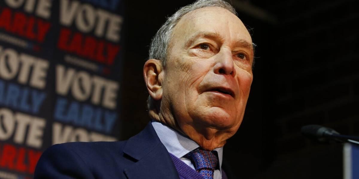 Bloomberg dona $100 millones para que Biden gane en Florida