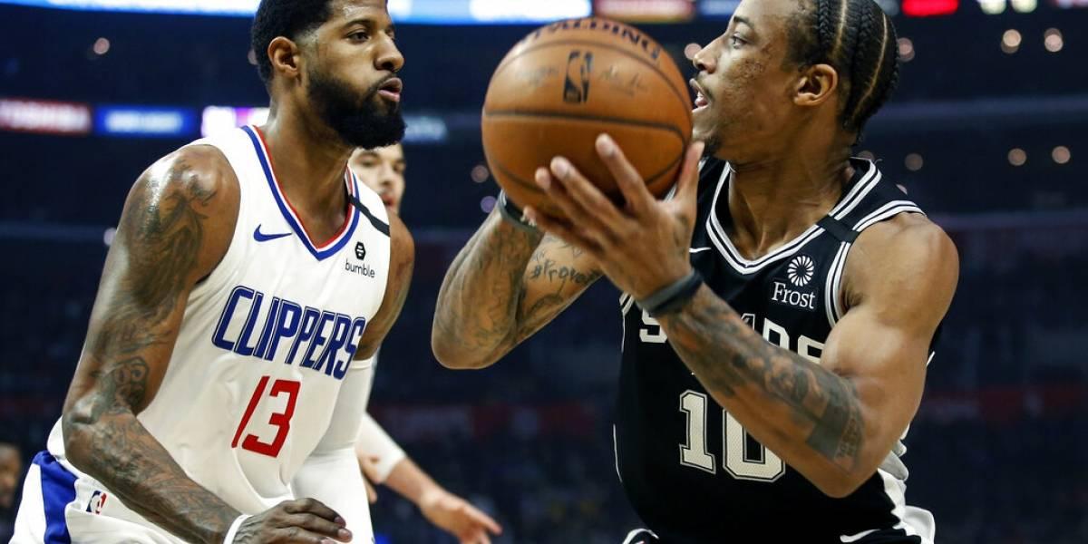 Clippers remontan para vencer a los Spurs de San Antonio