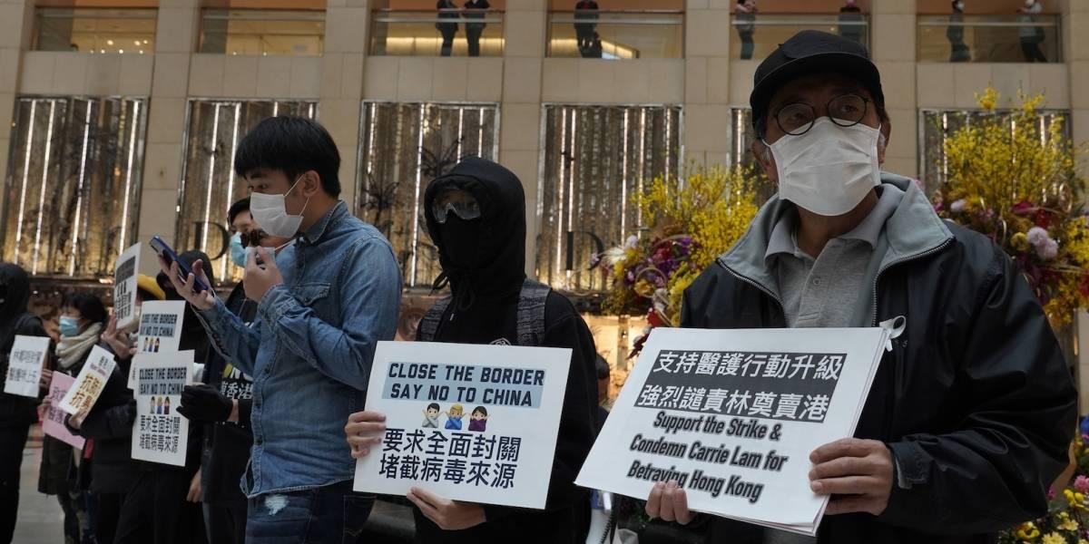 Hospitales de Hong Kong realizan huelga en plena emergencia por coronavirus