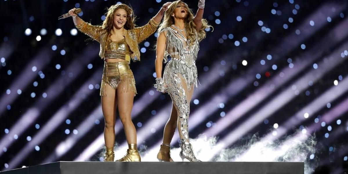 Reviven las canciones de Shakira y JLo en plataformas digitales tras Super Bowl