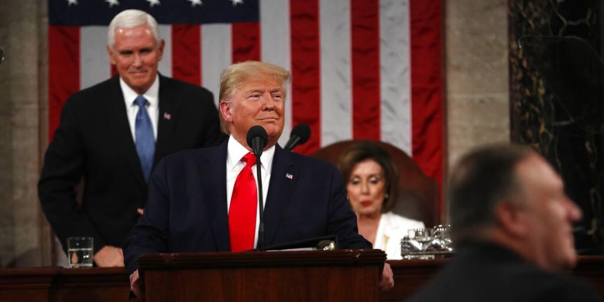 Cruce de indocumentados desde México bajó 75%, destaca Trump en discurso del Estado de la Unión