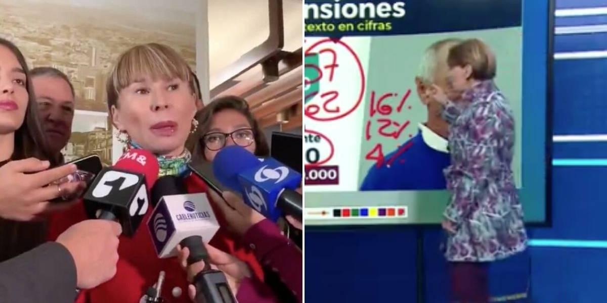 (VIDEO) La vez que Alicia Arango negaba una reforma pensional