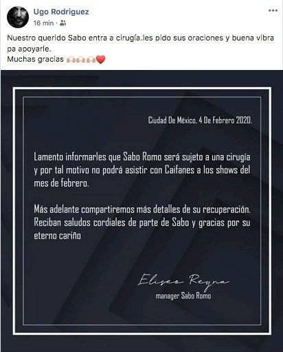 Ugo Rodríguez externa buenos deseos.
