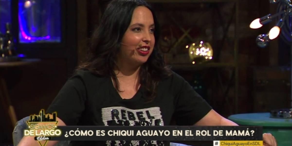"""Chiqui Aguayo realiza particular confesión tras convertirse en madre: """"Hay chistes que no quiero volver a contar"""""""