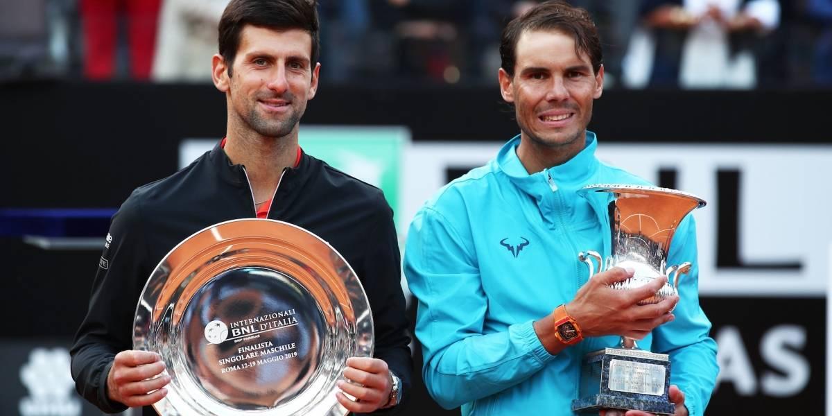 ¿Nadal o Djokovic? Se viene una intensa lucha por el número uno del mundo