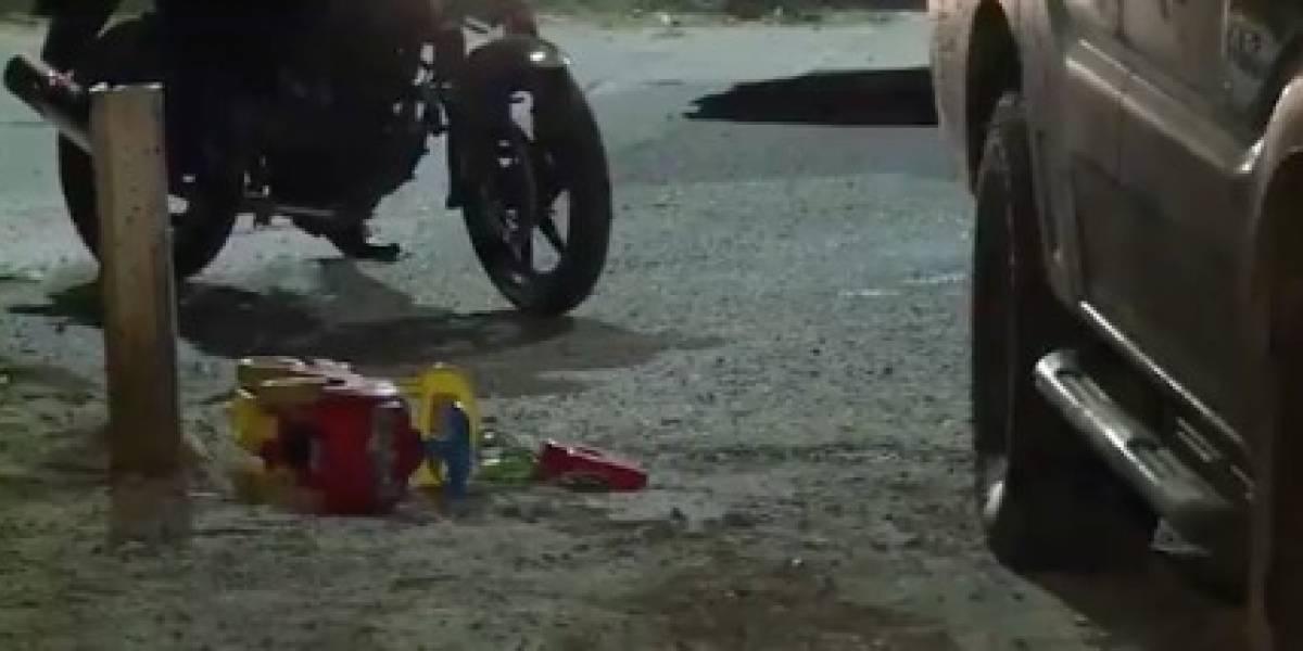 Muere pequeño de dos años arrollado por un carro en el norte de Bogotá