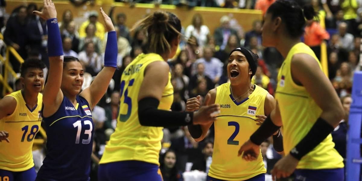 ¡Más que merecido! Selección Colombia de voleibol femenino, entre las mejores del mundo