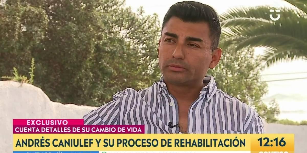 """Andrés Caniulef habla de su adicción a las drogas: """"Por más que lo intentas, es más fuerte que tú"""""""