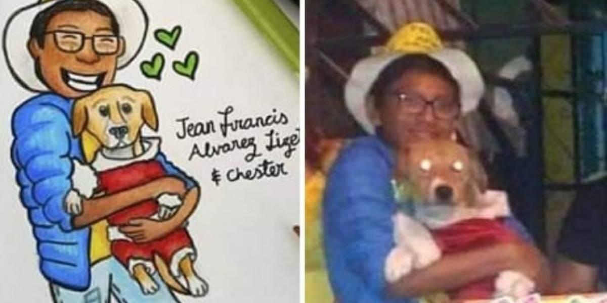 Niño que ingresó a casa en llamas para salvar a perrito, perdió la vida después de sacarlo