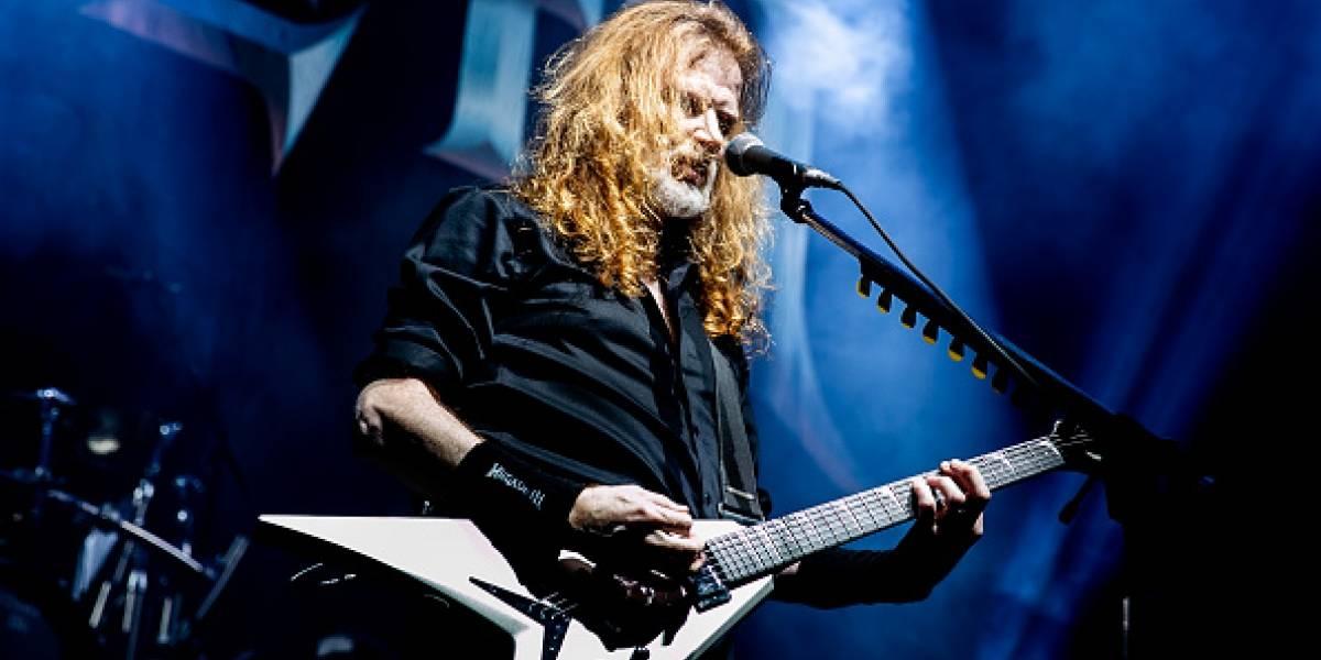 Vocalista de Megadeth está curado del cáncer de garganta