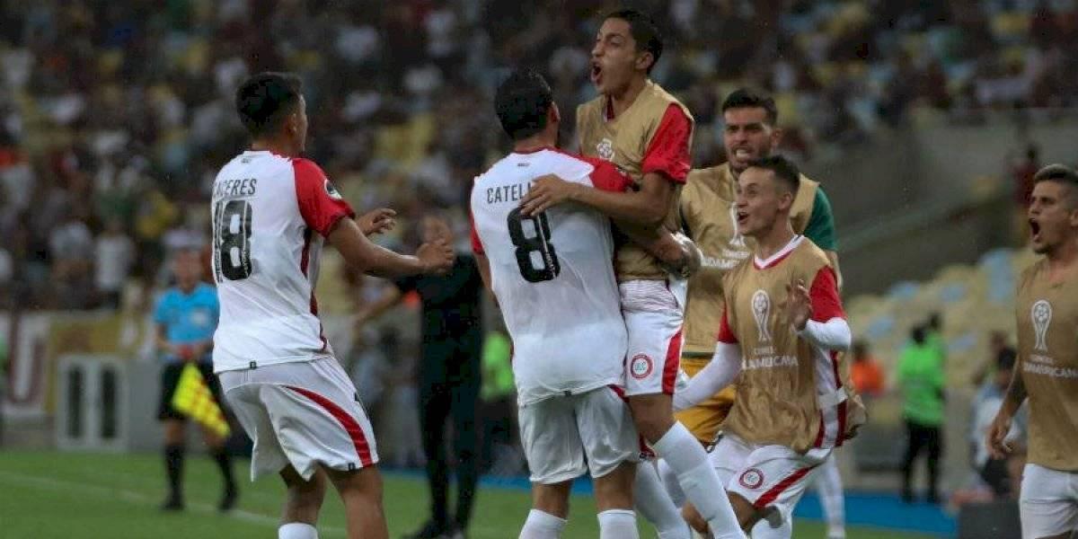 Unión La Calera tuvo un heroico empate ante Fluminense en el Maracaná por Copa Sudamericana