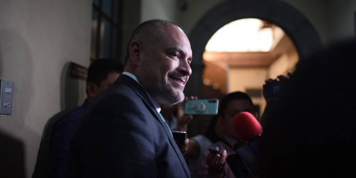 """VIDEO. Estuardo Vargas: """"Si traición es demostrar una inconformidad, evalúen ustedes"""""""