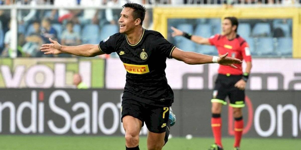 """Alexis fue alabado por un histórico italiano: """"Es un jugador que puede ser importante para el Inter"""""""