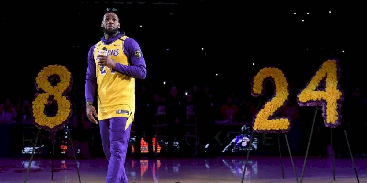 LeBron James homenajeará a la hija de Kobe Bryant en el All Star Game de la NBA