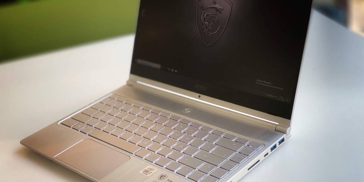 El nuevo laptop MSI Modern 14 es pesado en especificaciones y ligero en peso