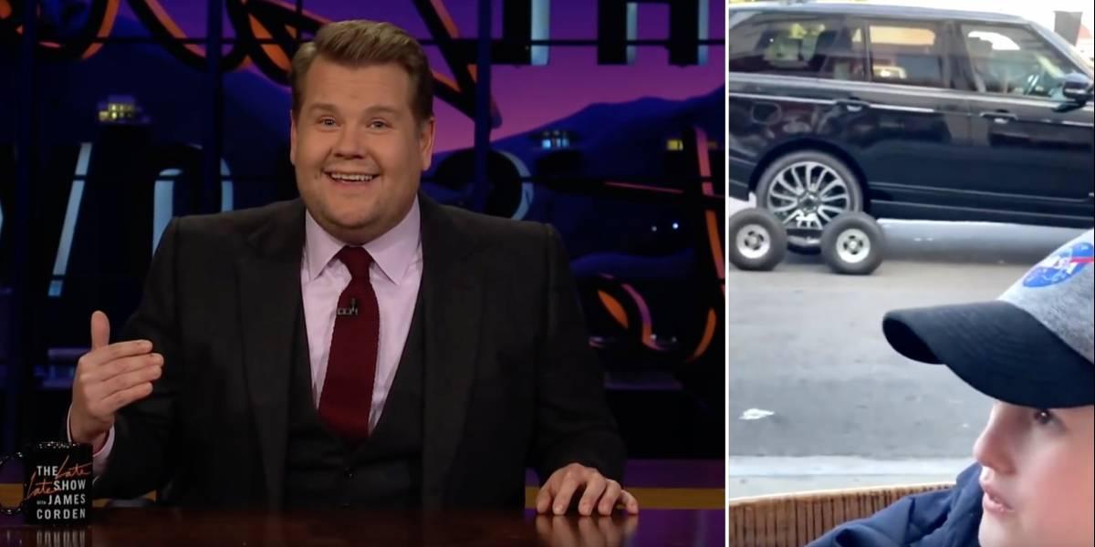 James Corden aclara polémico video que muestra que él no es quien conduce en Carpool Karaoke