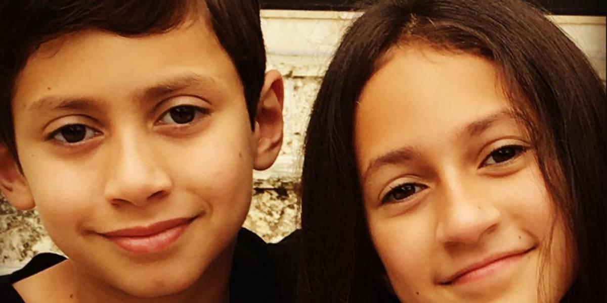 Hijos de Jennifer Lopez y Marc Anthony cada vez más demuestran el talento que heredaron