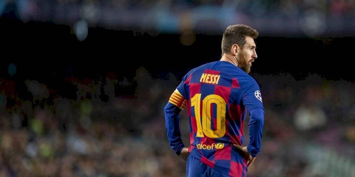 Juventus intentaría fichar a Messi en el verano