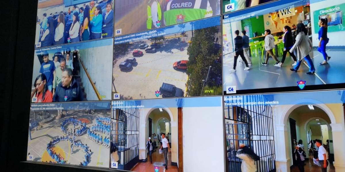 EN VIVO. Realizan macrosimulacro de terremoto con evacuaciones e incendios