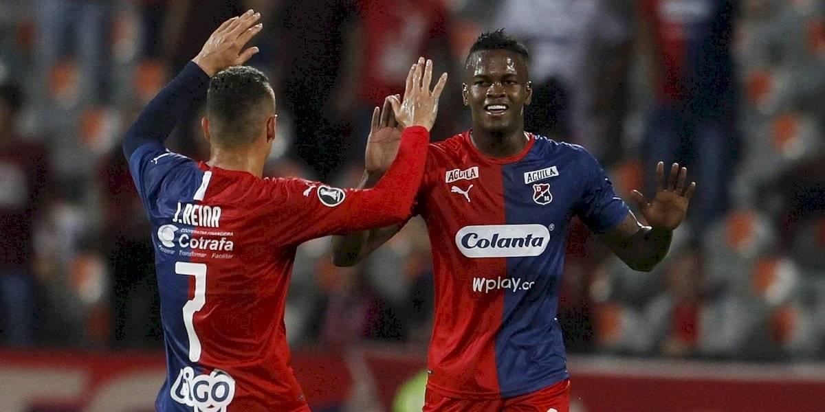 ¡Un baile rojo y azul! Medellín goleó al Táchira y sueña en la Libertadores (4-0)