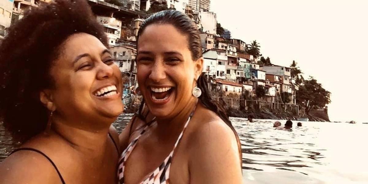 Viúva de Marielle Franco fica noiva de cantora