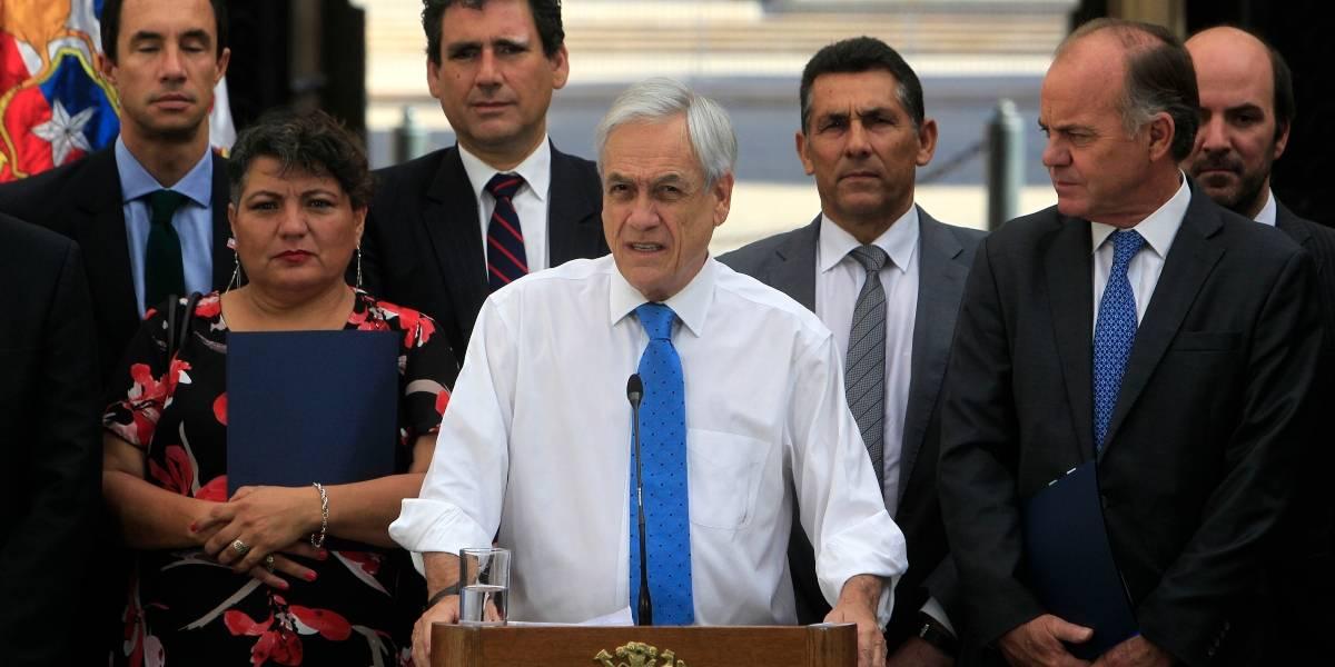 """Piñera por PSU: """"En Chile hay dos tipos de estudiantes. Los que quieren estudiar y cumplir sus sueños y una minoría que quiere por la fuerza arrebatarles ese derecho"""""""