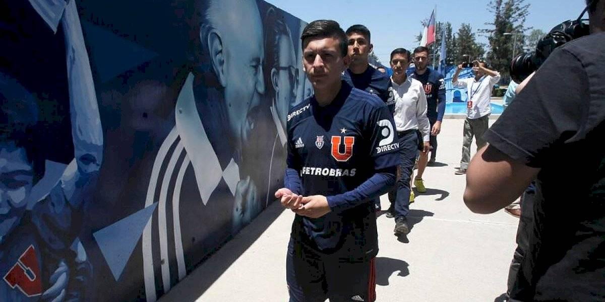 Aránguiz debutará con la U enfrentando a Inter de Porto Alegre por la Copa Libertadores