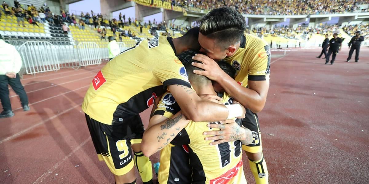 Coquimbo Unido logró importante triunfo en la Copa Sudamericana de la mano de Mauricio Pinilla
