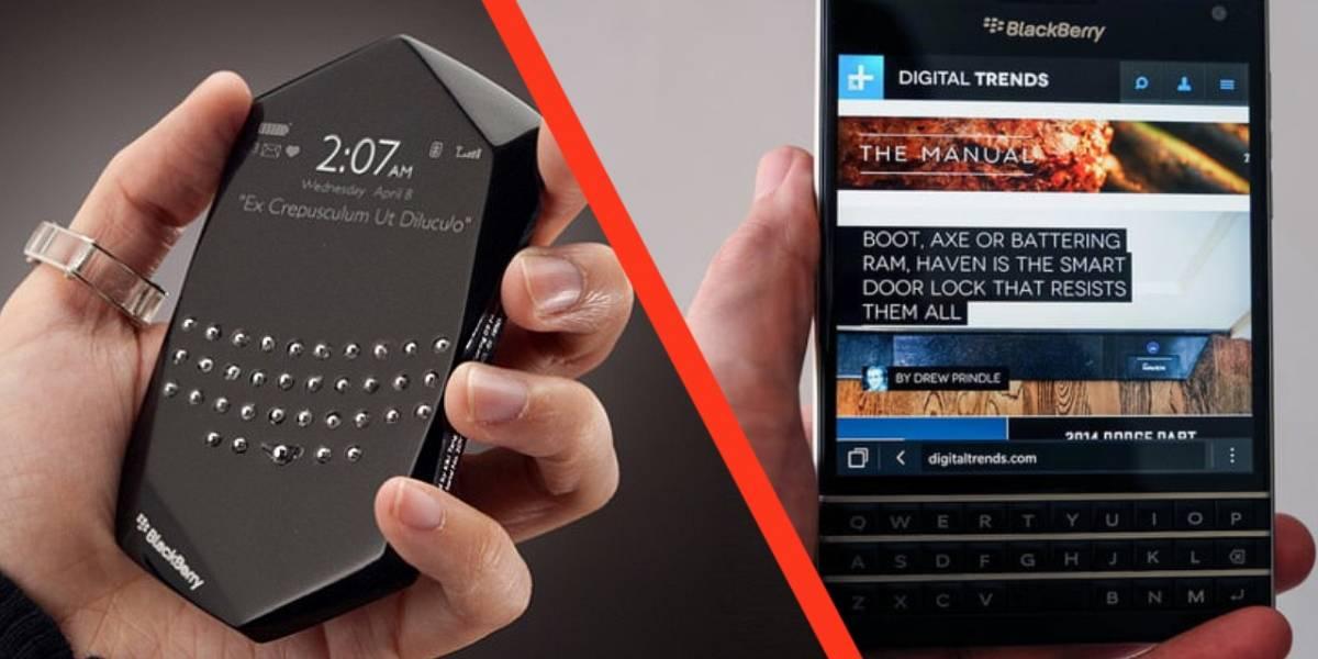 BlackBerry: Recordamos los equipos más curiosos de la compañía