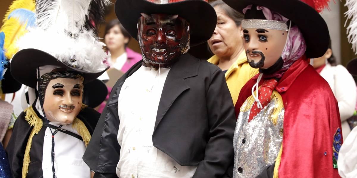Buscan que Huehues sean patrimonio inmaterial de Puebla