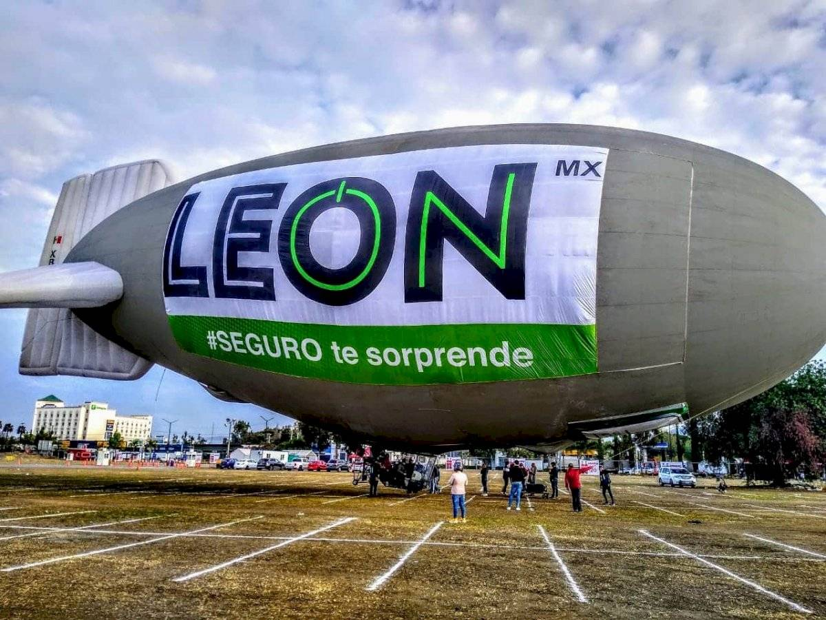 Dirigible Marca León Mx
