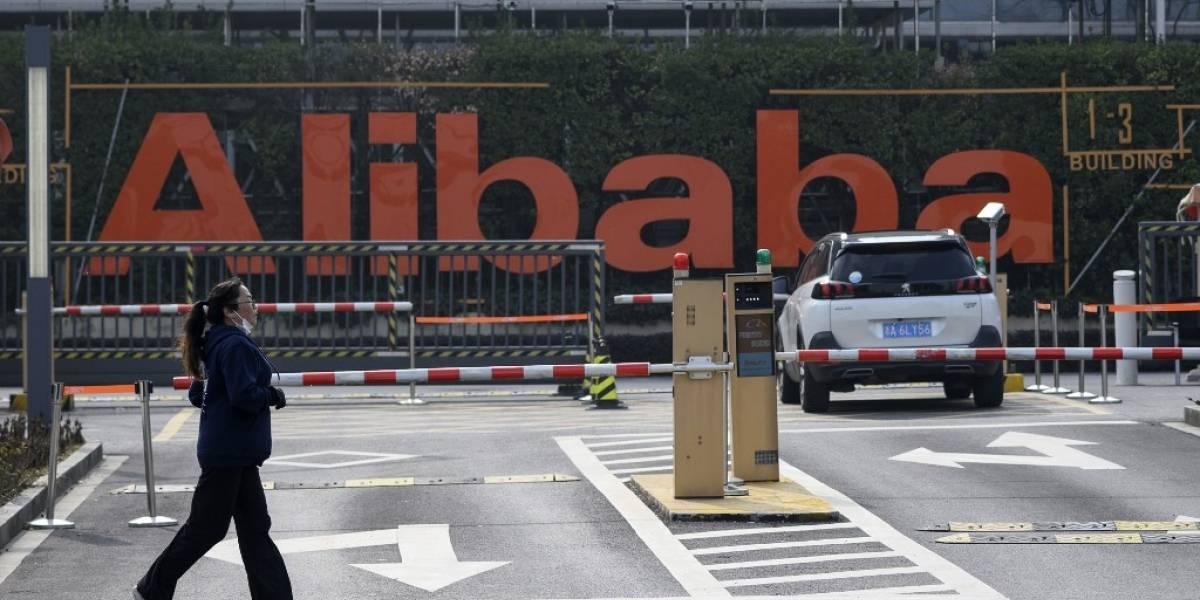 """""""¡No salgan!"""", el mensaje de alarma por coronavirus del gigante comercial chino Alibaba"""