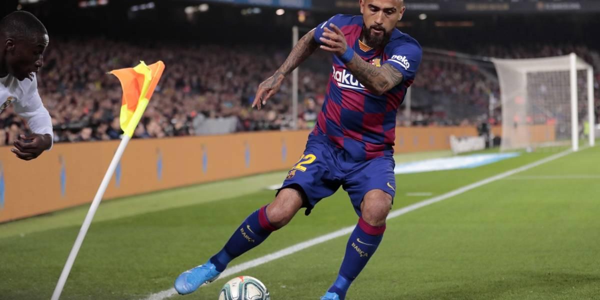 """Vidal supera la lesión y regresa a las convocatorias en Barcelona: """"Es una opción más para el ataque"""""""