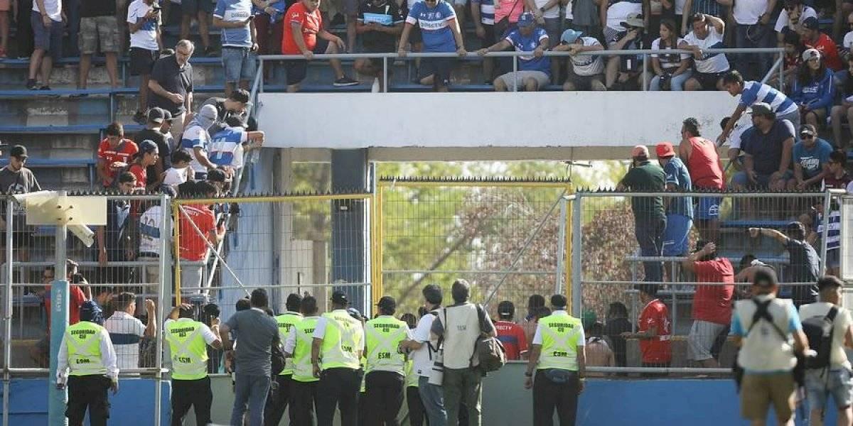 """El Chapa Fuenzalida volvió a criticar los incidentes en el partido de la UC: """"No es la forma de manifestarse"""""""