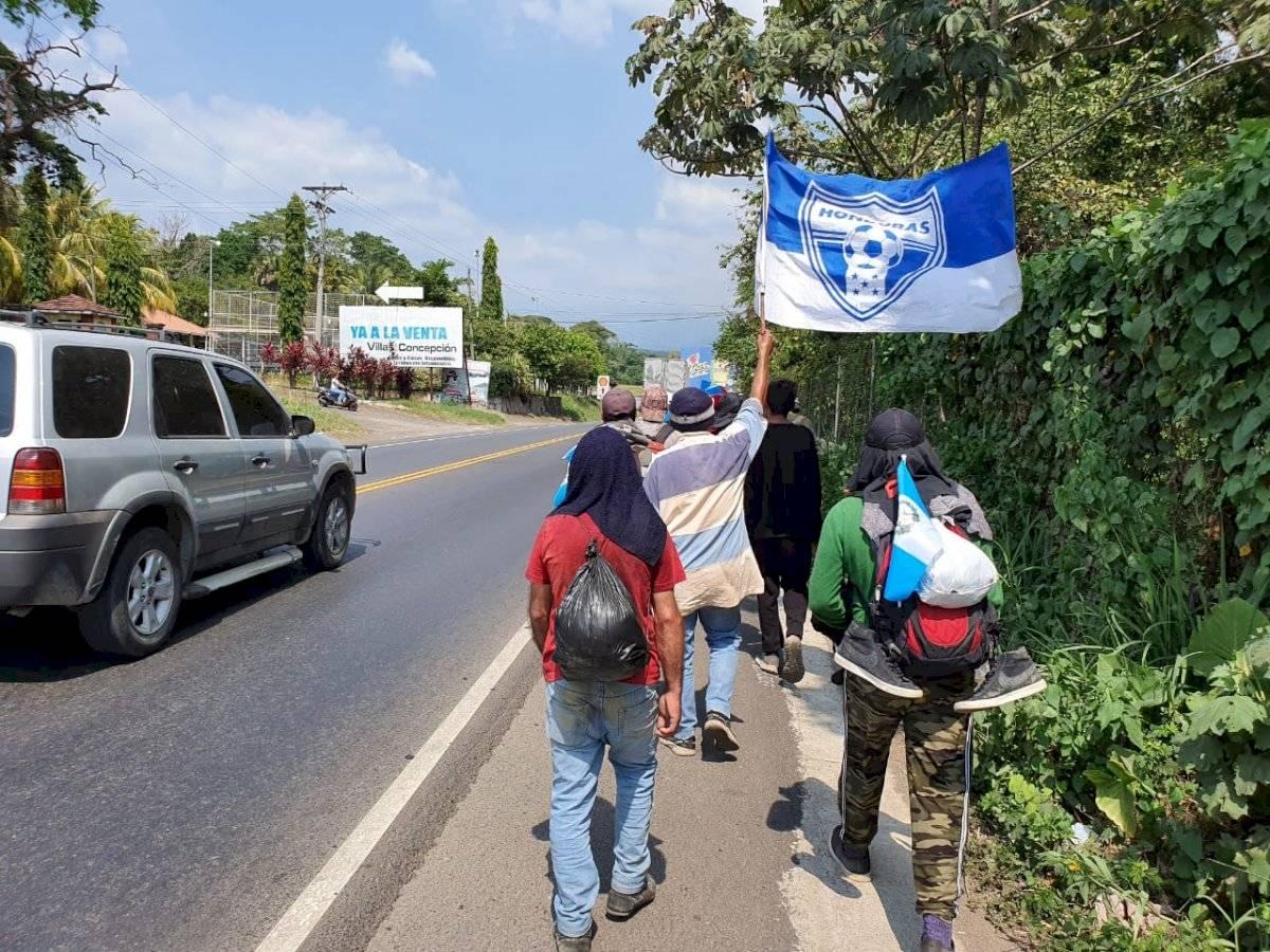 Caravanita de la paz de Hondureños