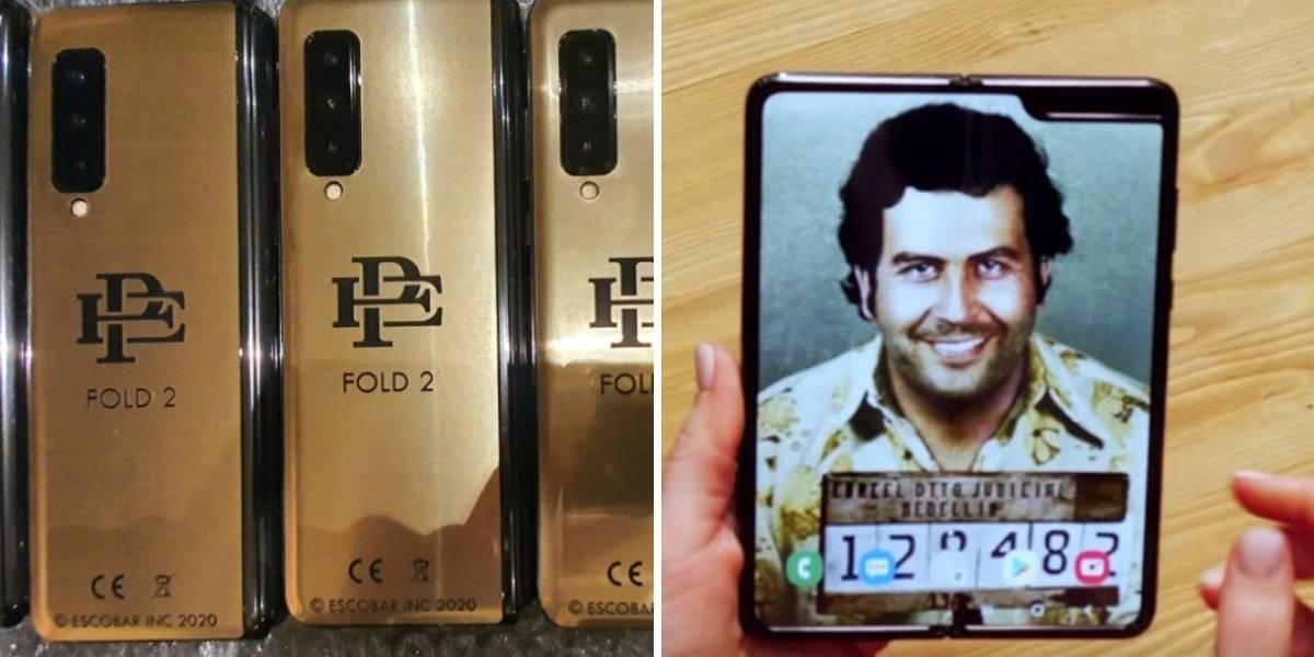 Hermano de Pablo Escobar lanza un nuevo smartphone plegable
