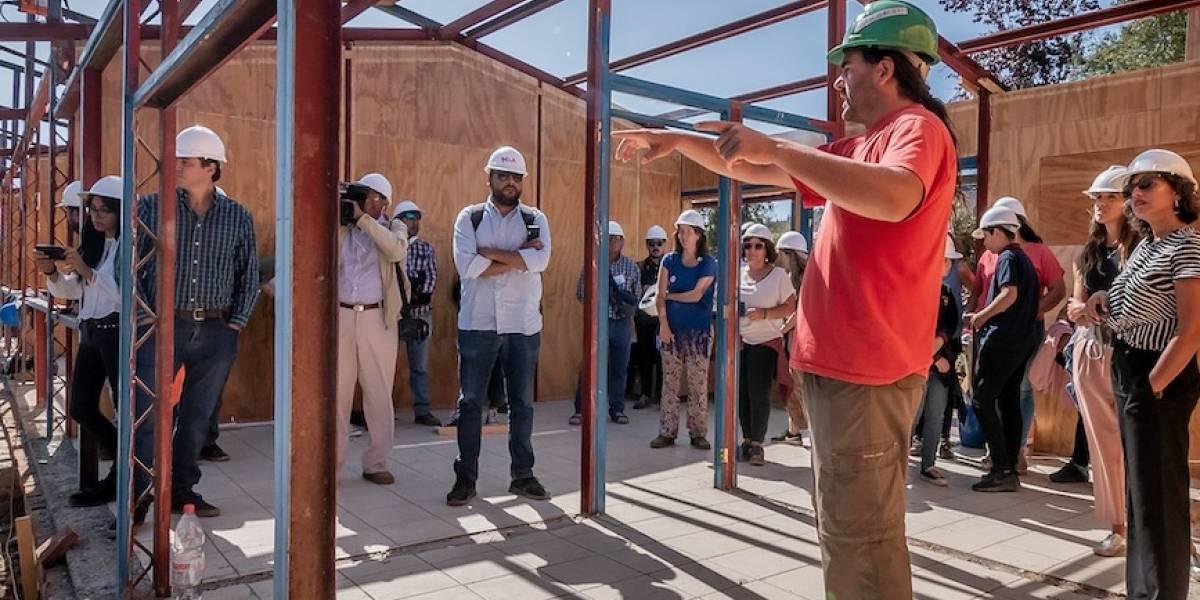 Primera escuela sustentable de Chile estará lista en 45 días